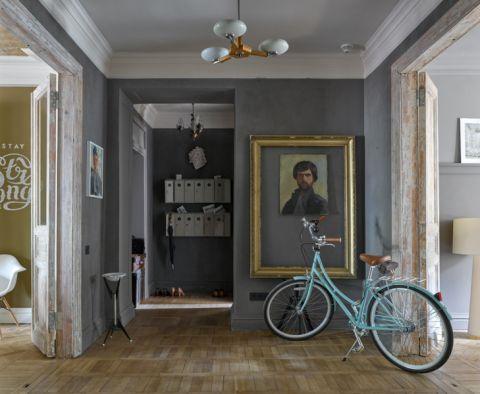 书房走廊美式风格效果图