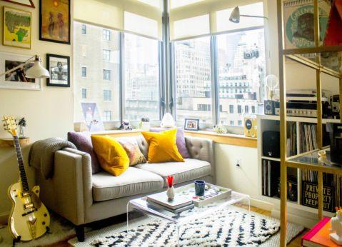 卧室沙发混搭风格装潢效果图