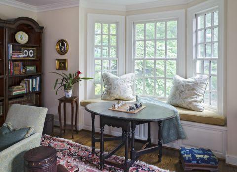 客厅飘窗美式风格装修效果图