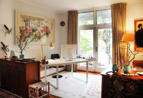 107平米二居室混搭风格装修图片