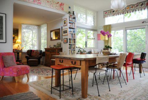 餐厅餐桌混搭风格装饰设计图片