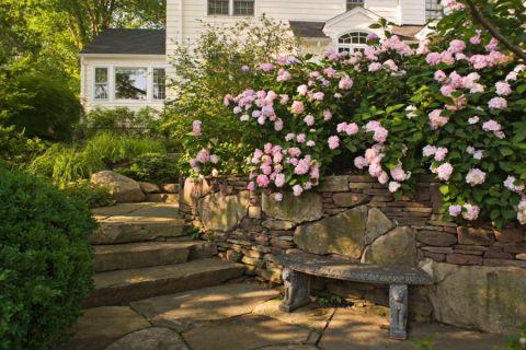 花园地板砖美式风格效果图