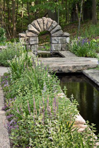 花园走廊美式风格装修效果图