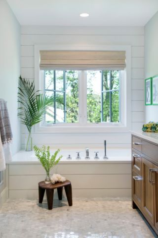 浴室吊顶北欧风格装潢设计图片