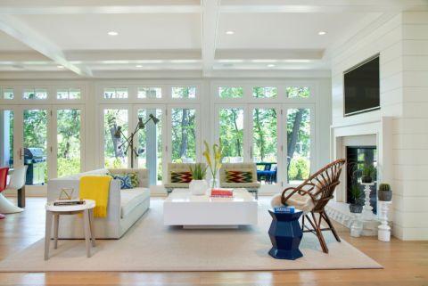 客厅沙发北欧风格装饰效果图