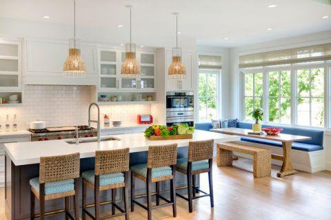 厨房吊顶北欧风格装修图片