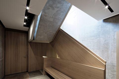 玄关背景墙现代风格装潢图片