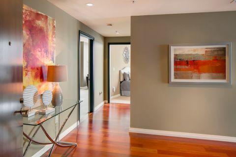 86平米一居室混搭风格装修图片