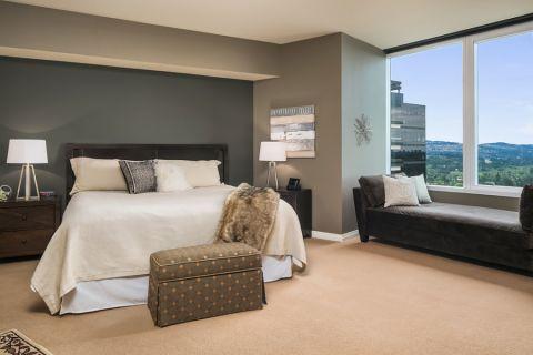 卧室吊顶混搭风格装潢设计图片