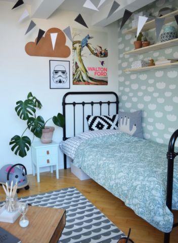 儿童房地板砖现代风格装饰效果图