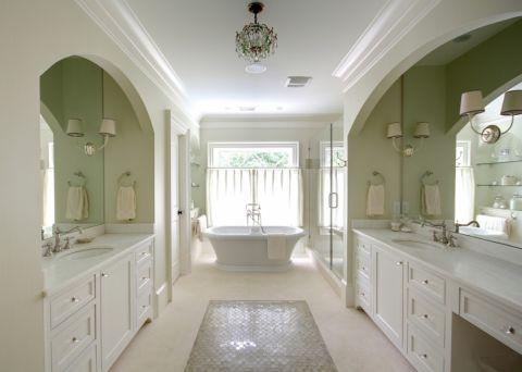 浴室吊顶美式风格装饰图片