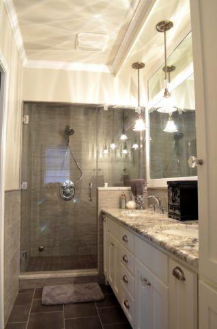 浴室吊顶美式风格装修效果图