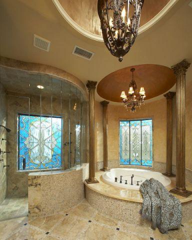 浴室吊顶地中海风格装修效果图