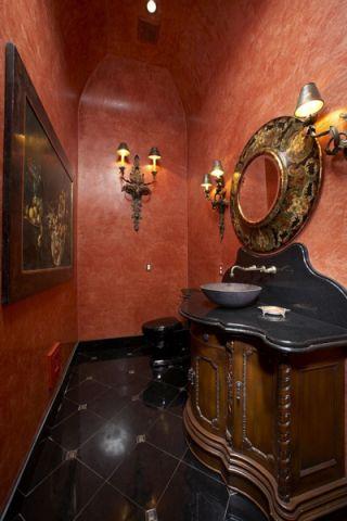 浴室吊顶地中海风格装饰图片