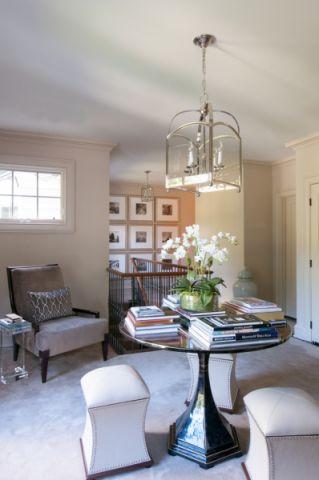 卧室走廊美式风格装饰效果图