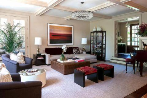 卧室美式风格效果图大全2017图片_土拨鼠简洁格调卧室美式风格装修设计效果图欣赏