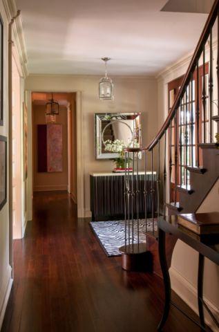 玄关吊顶美式风格装修图片