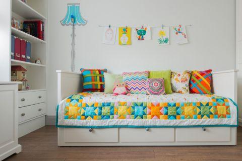 儿童房榻榻米现代风格装饰设计图片