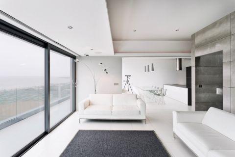 客厅现代风格效果图大全2017图片_土拨鼠简洁写意客厅现代风格装修设计效果图欣赏