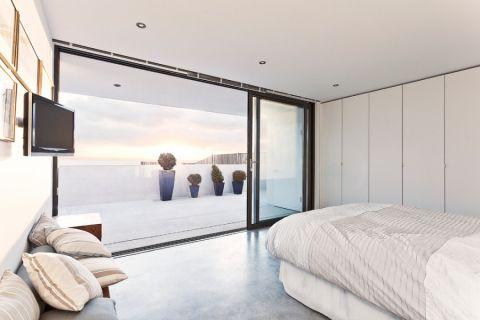 卧室推拉门现代风格装修图片