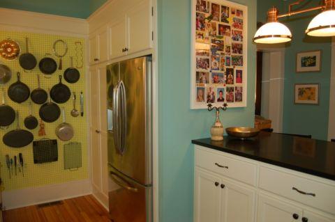 厨房照片墙美式风格装修图片