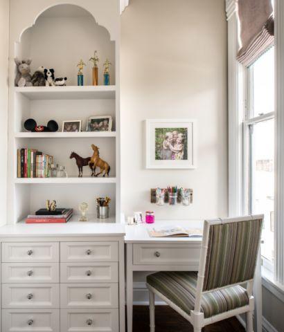 儿童房书桌美式风格装饰图片