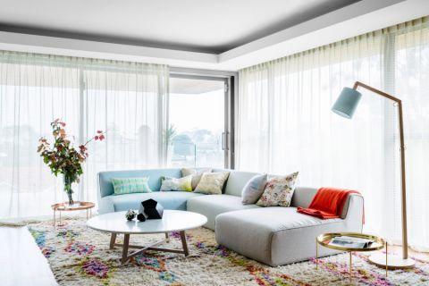 客厅现代风格效果图大全2017图片_土拨鼠现代摩登客厅现代风格装修设计效果图欣赏