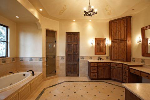 浴室吊顶地中海风格装修设计图片