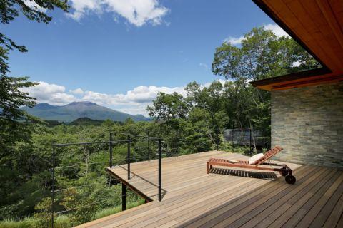 阳台背景墙现代风格装修图片