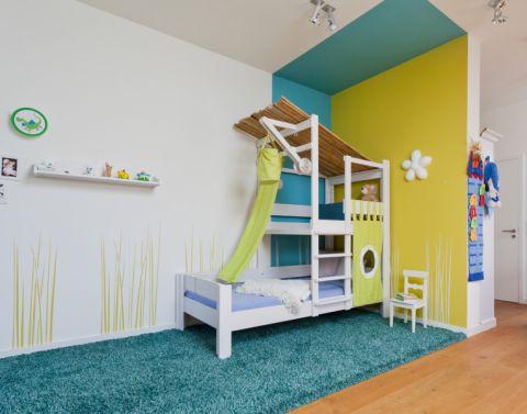 106平米四居室现代风格装修图片