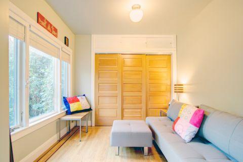 99平米三居室混搭风格装修图片