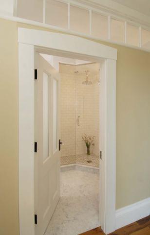 浴室推拉门美式风格装修效果图