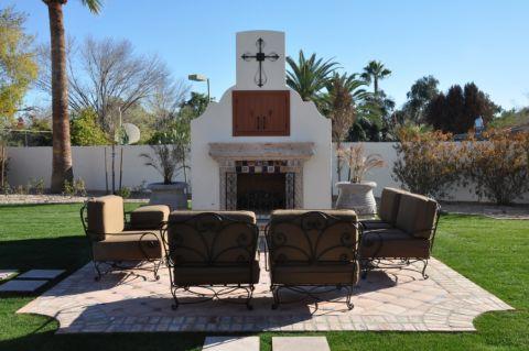 花园沙发地中海风格装潢图片