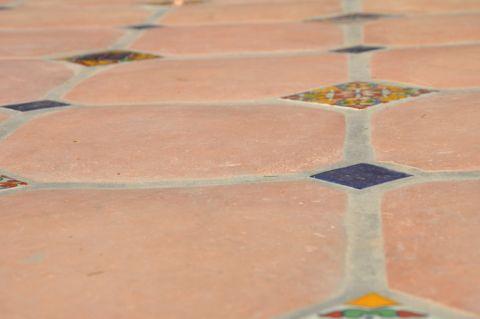 花园地板砖地中海风格装潢设计图片