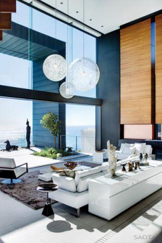 客厅落地窗现代风格效果图