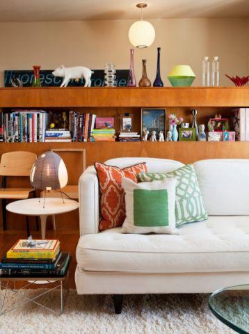 客厅混搭风格效果图