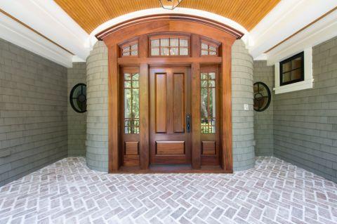 玄关地板砖美式风格装修效果图