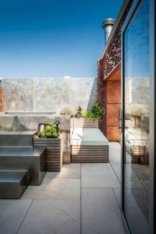 阳台推拉门现代风格装饰设计图片