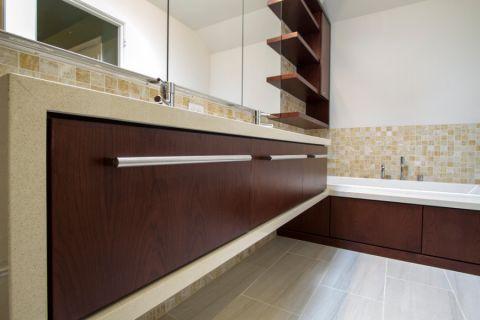 浴室洗漱台现代风格装修图片