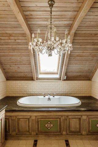 浴室吊顶混搭风格装饰图片