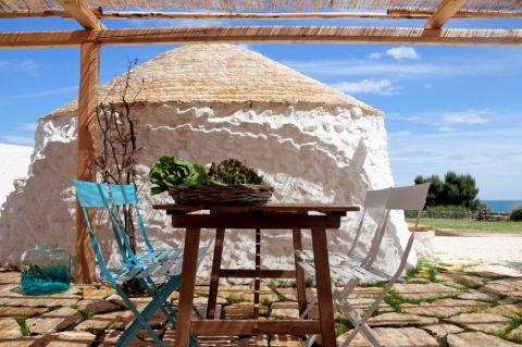 阳台地板砖地中海风格装饰设计图片