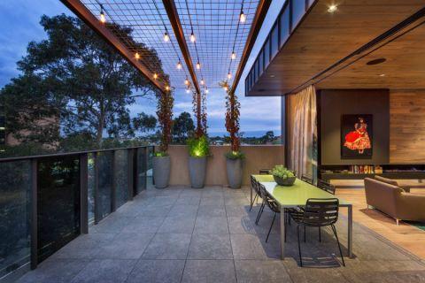 177平米庭院现代装修图片_土拨鼠装修效果图
