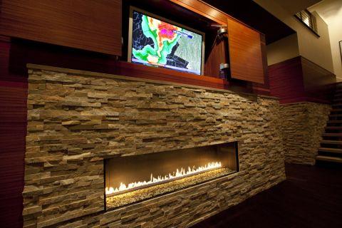 客厅背景墙现代风格效果图