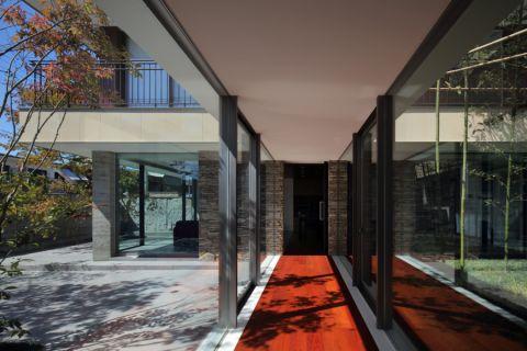 花园走廊现代风格效果图