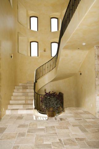 玄关背景墙地中海风格装饰效果图