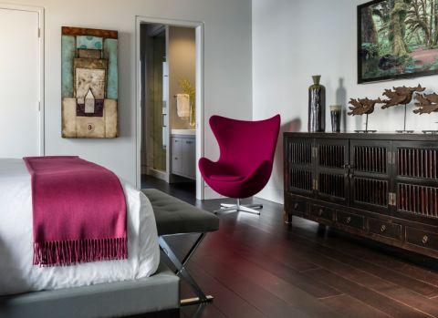 卧室现代风格效果图大全2017图片_土拨鼠简约质感卧室现代风格装修设计效果图欣赏
