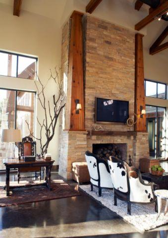 客厅地板砖地中海风格装饰设计图片