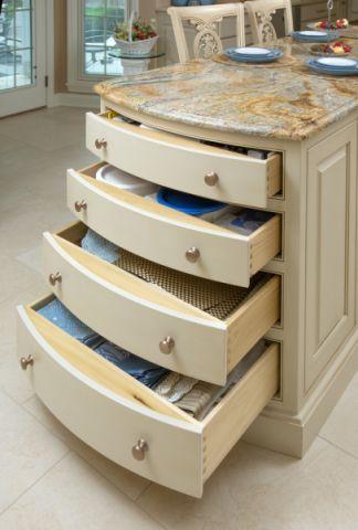 厨房地板砖美式风格装潢设计图片