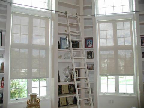 客厅书架现代风格装修图片