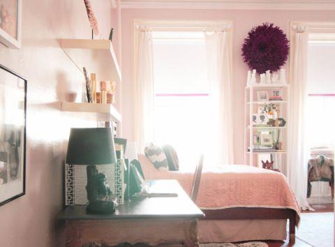 卧室窗台混搭风格装饰设计图片